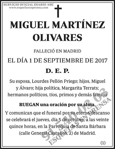Miguel Martínez Olivares